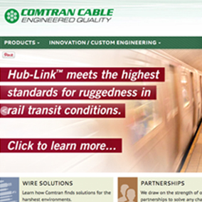 Comtran Cable Website