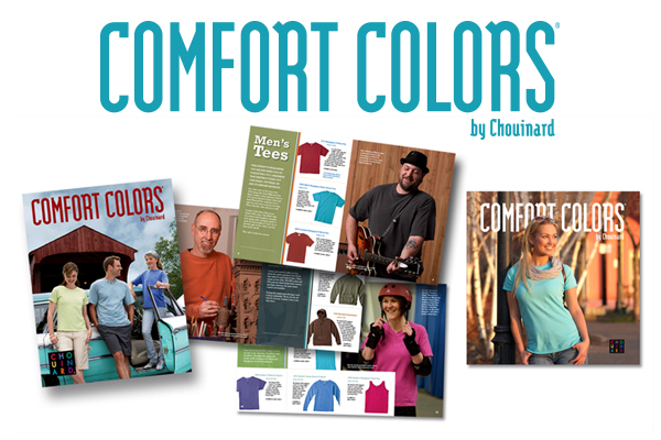 Comfort Colors Catalog Art