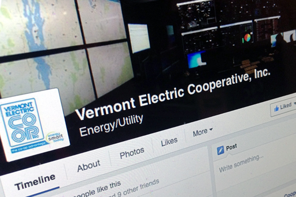 Vermont Electric Cooperative Facebook
