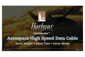 Harbour Industries Datamaster Aerospace High Speed Data Cable Video