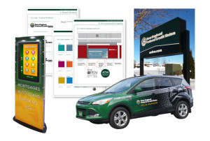 New England Federal Credit Union Branded Environments